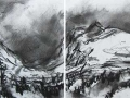 High Tatry Mountains #3 (diptych)