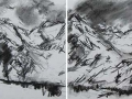 High Tatry Mountains #6 (diptych)