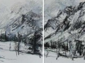High Tatry Mountains #7 (diptych)