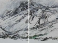 High Tatry Mountains #8 (diptych)