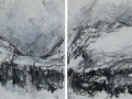 High Tatry Mountains #4 (diptych)