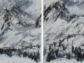 High Tatry Mountains #5 (diptych)